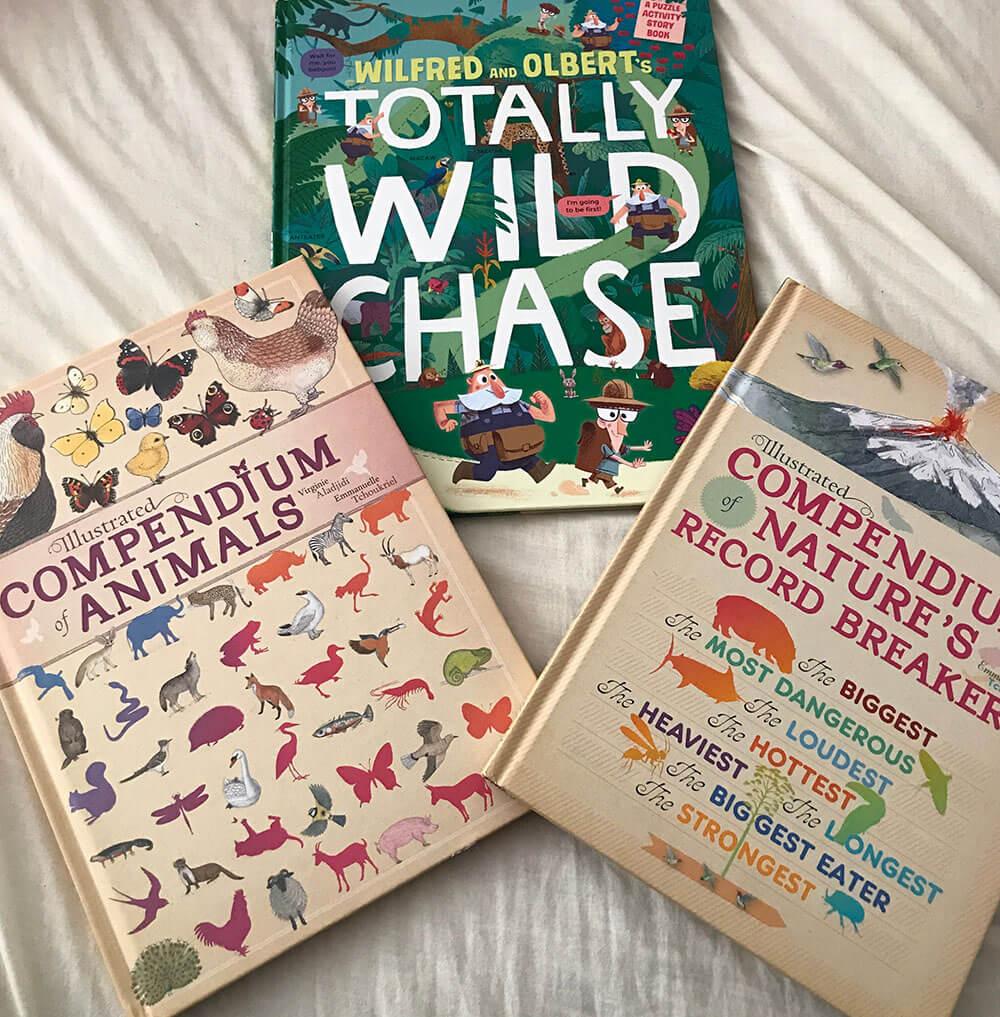 Animal explorer books