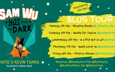 #SamWu is NOT afraid of the Dark! BLOG TOUR – written by @kwebberwrites @kevtsang illustrated by @nathanreed_illo published with @egmontuk