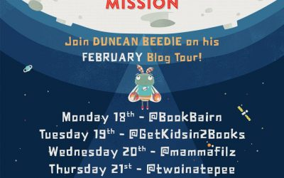 #MollysMoonMission blog tour lands at Reading Rocks – @DuncanDraws