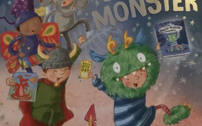 The World Book Day Monster written by @cguillain & @aguillain and illustrated by @adagreybright with @egmontuk