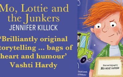 Mo, Lottie and the Junkers by @jenniferkillick , illustrated by @theGarethConway , reviewed by @BooksTales