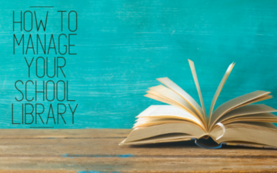 How to manage your school library: