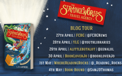 The StrangeWorlds Travel Agency – blog tour