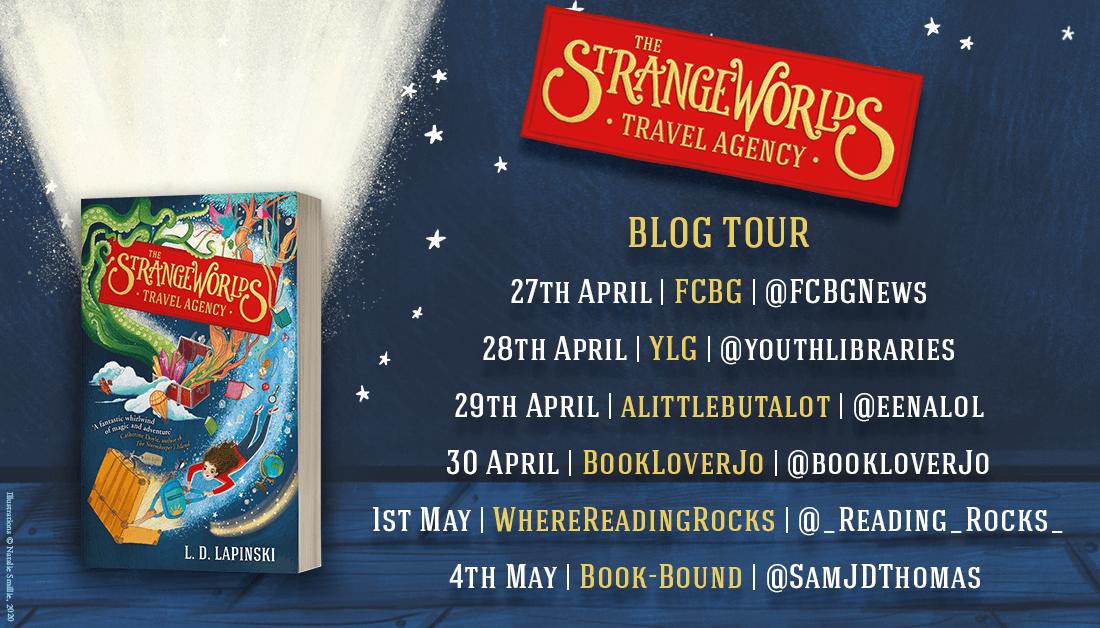 Strangeworlds blog tour