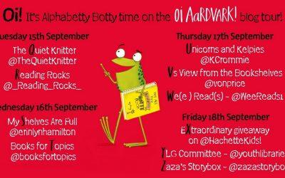 #OiAardvark ! – Alphabetty Blog Tour