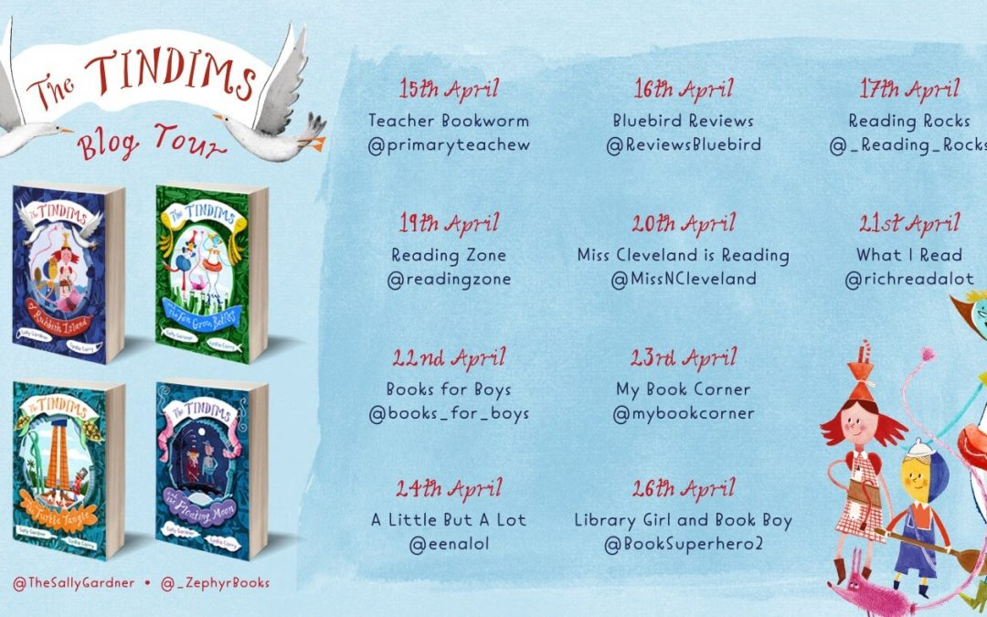The Tindims and the Ten Green Bottles by @thesallygardner & #LydiaCorry with @_ZephyrBooks – blog tour