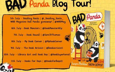 #BadPanda by @SwapnaHaddow & @SheenaDempsey with @FaberChildrens – Blog Tour Post!